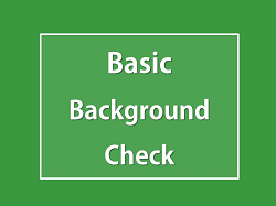 Pathway HR Solutions - Basic Background Check